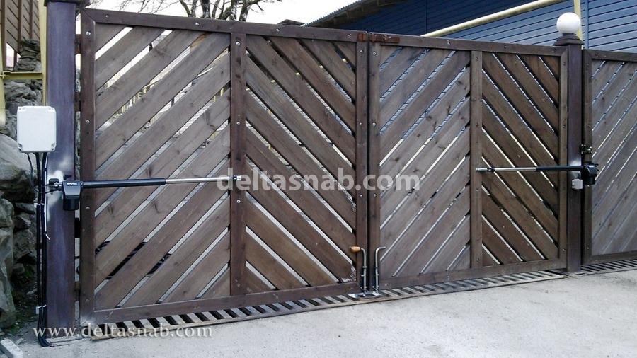 Ворота распашные италия ворота с перемычкой
